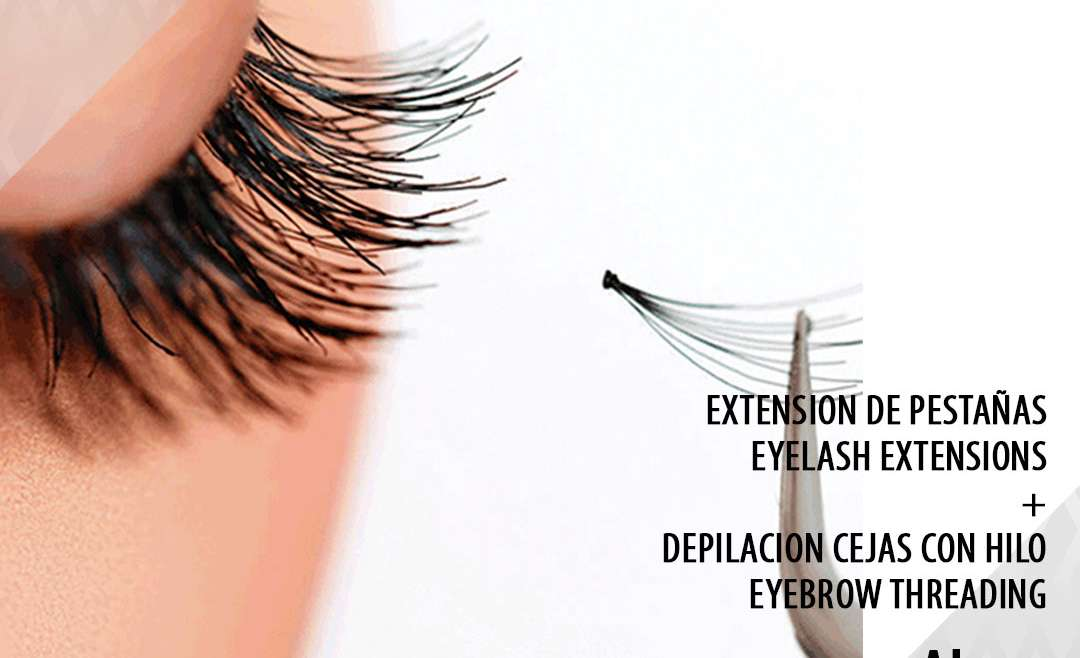 Eyelash Extensions + Eyebrow Threading