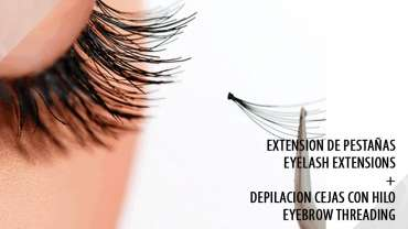 Eyelash Extensions + Eyebrow Threading