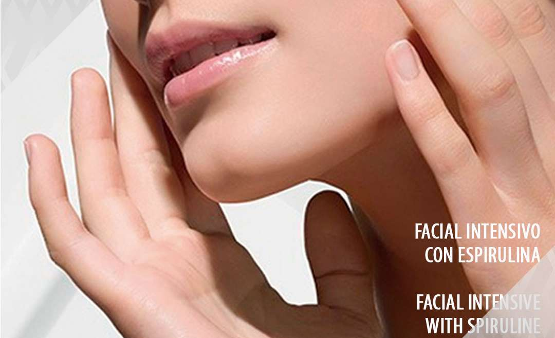 Facial Intensive with spiruline