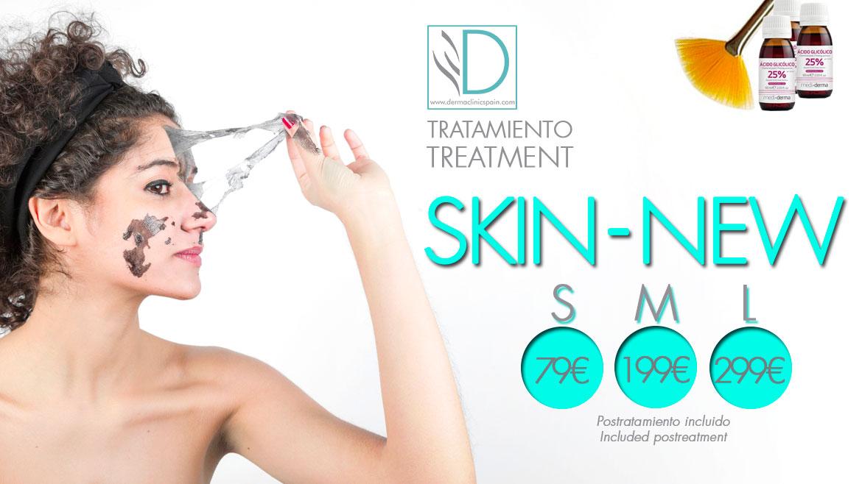 SKIN-NEW  an exlusive facial treatment at Derma Clinic Spain