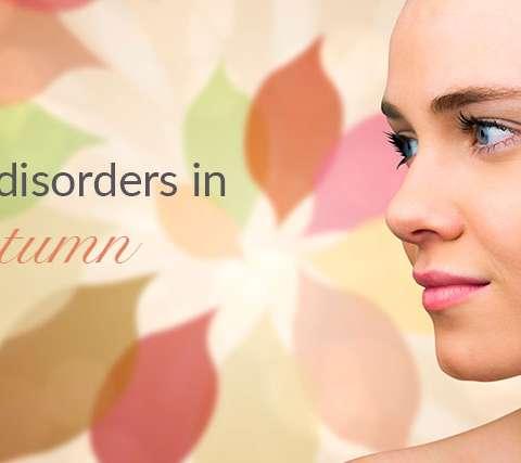 Skin disorders in autumn